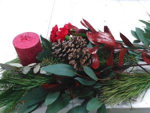 Centros de mesa para navidad en Leon_Jardineria Magal