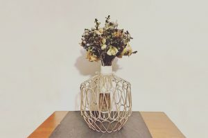 decoración de jarrón en león - Jardinería Magal